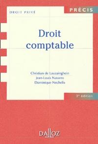 Christian de Lauzainghein et Jean-Louis Navarro - Droit comptable.