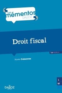 Christian de Lauzainghein et Marie-Hélène Stauble-de Lauzainghein - Droit fiscal - 16e ed..