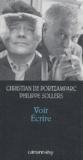 Christian de Portzamparc et Philippe Sollers - Voir Ecrire.