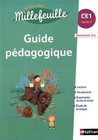 Christian Demongin - Français CE1 Le nouveau Millefeuille - Guide pédagogique.