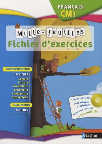 Francais Cm1 Mille Feuilles Ficher D Exercices