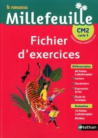 Christian Demongin et Yolande Gonnet - Français CM2 Le nouveau Millefeuille.