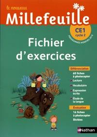 Christian Demongin - Le nouveau Millefeuille CE1 cycle 2 - Fichier d'exercices.