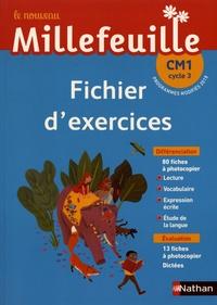Christian Demongin - Le nouveau Millefeuille CM1 cycle 3 - Fichier d'exercices.