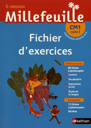 Le Nouveau Millefeuille Cm1 Cycle 3 Fichier D Exercices Grand Format