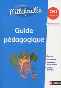 Christian Demongin - Le nouveau Millefeuille CM1 - Guide pédagogique.