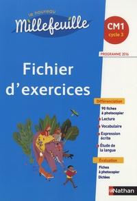 Christian Demongin - Le nouveau Millefeuille CM1 - Fichier d'exercices.