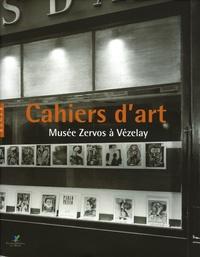Christian Derouet et Rémi Labrusse - Cahiers d'art - Musée Zervos à Vezelay.