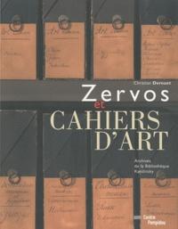Christian Derouet - Zervos et Cahiers d'art.