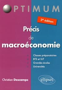 Christian Descamps - Précis de macroéconomie.
