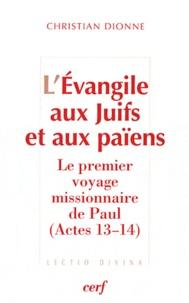 Deedr.fr L'Evangile aux Juifs et aux païens - Le premier voyage missionnaire de Paul (Actes 13-14) Image