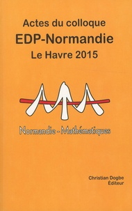 "Christian Dogbe - Actes du colloque ""EDP Normandie"" Le Havre 2015."