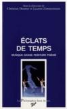Christian Doumet et Laurent Zimmermann - Eclats de temps - Musique, danse, peinture, poésie.