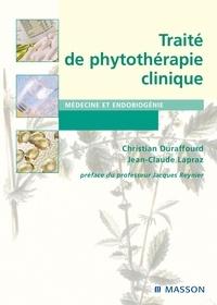 Christian Duraffourd et Jean-Claude Lapraz - Traité de phytothérapie clinique - Endobiogénie et médecine.