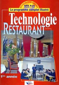 Christian Ferret - Technologie restaurant - 1ère année.