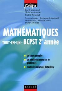 Christian Gautier et André Warusfel - Mathématiques tout-en-un BCPST 2e année - Cours et exercices corrigés.