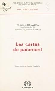 Christian Gavalda - Les Cartes de paiement.