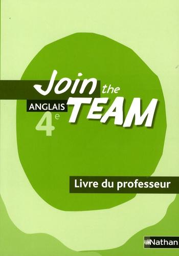 anglais 4e join the team - livre du professeur  christian gernigon - decitre - livre