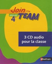 Anglais 4e Join the Team - 3 CD audio pour la classe.pdf