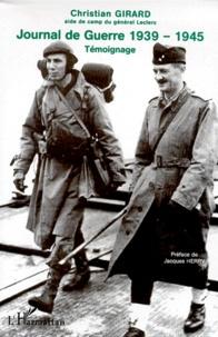 Deedr.fr Journal de Guerre 1939-1945. - Témoignage de l'aide de camp du général Leclerc de Hauteclocque Image