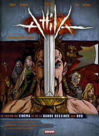 Christian Godard et Laurent Bendjebbour - Attila - Un Barbare défie l'Empire. 1 DVD