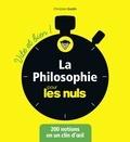 Christian Godin - La philosophie pour les nuls vite et bien !.