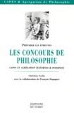 Christian Godin - Les concours de philosophie.