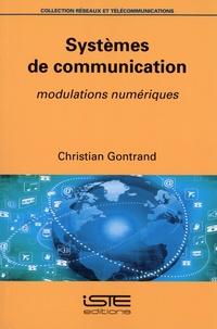 Christian Gontrand - Systèmes de communications - Modulations numériques.