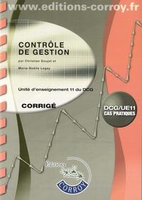 Feriasdhiver.fr Contrôle de gestion UE 11 du DCG - Corrigé Image