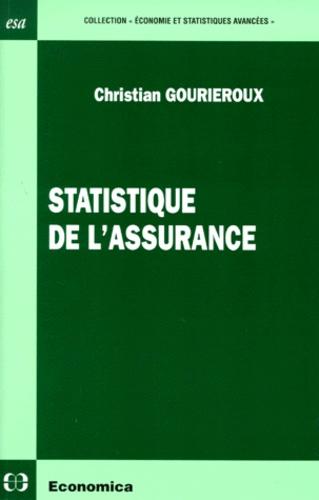 Christian Gourieroux - Statistique de l'assurance.