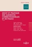 Christian Guéry et Bruno Lavielle - Droit et pratique des audiences correctionnelles et de police.