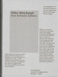 Christian Hartmann et Thomas Vordermayer - Hitler, Mein Kampf - Eine kritische Edition - Pack en 2 volumes : Bände 1 & 2.