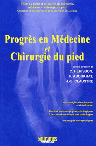 progr u00e8s en m u00e9decine et chirurgie du pied  christian h u00e9risson - decitre - livre