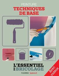 Christian Hochet et Nicolas Vidal - Revêtements intérieurs : peinture - techniques de base - avec vidéos - L'essentiel du bricolage.