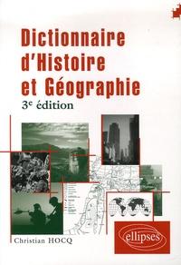 Christian Hocq - Dictionnaire d'histoire et de géographie.