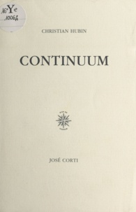 Christian Hubin - Continuum.