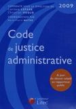 Christian Huglo - Code de justice administrative 2009.