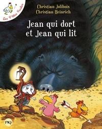 Christian Jolibois et Christian Heinrich - Les P'tites Poules  : Jean qui dort et Jean qui lit.