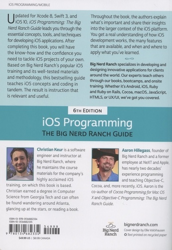 iOS Programming. The Big Nerd Ranch Guide 6th edition