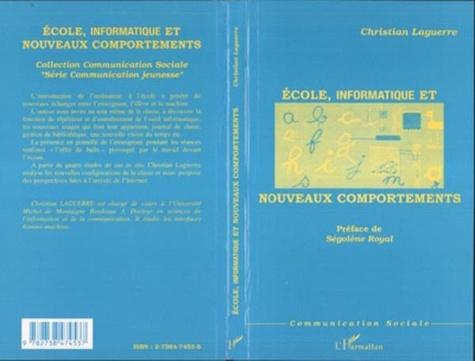 Christian Laguerre - École, informatique et nouveaux comportements.