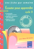 Christian Lamblin - Ecouter pour apprendre Cycle 2. 2 CD audio