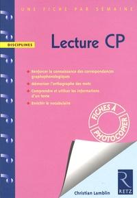 Christian Lamblin - Lecture CP.