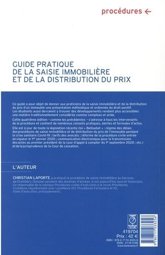 Guide pratique de la saisie immobilière et de la distribution du prix 4e édition