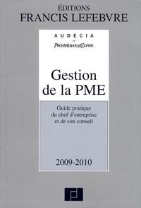 Goodtastepolice.fr Gestion de la PME 2009-2010 - Guide pratique du chef d'entreprise et de son conseil Image