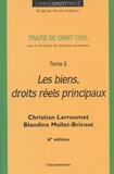Christian Larroumet et Blandine Mallet-Bricout - Traité de droit civil - Tome 2, Les biens, droits réels principaux.