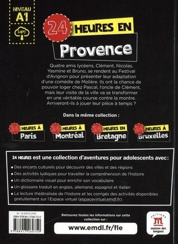 24 heures en Provence. Niveau A1