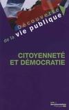 Christian Le Bart - Citoyenneté et démocratie.