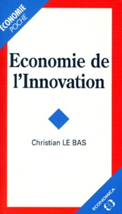 Christian Le Bas - Économie de l'innovation.