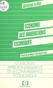 Christian Le Bas - Économie des innovations techniques.