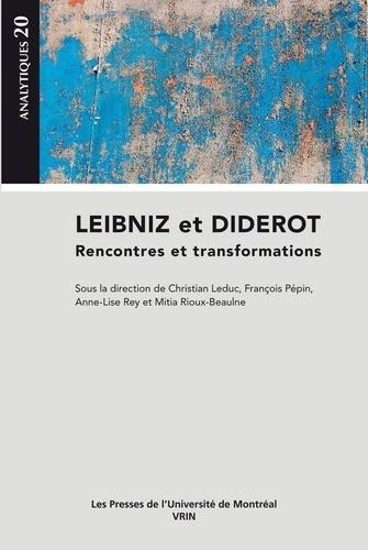 Leibniz et Diderot. Rencontres et transformations